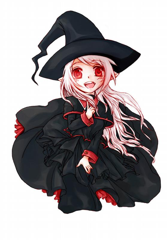 558x800 Halloween Anime Witch By Cammiecandie