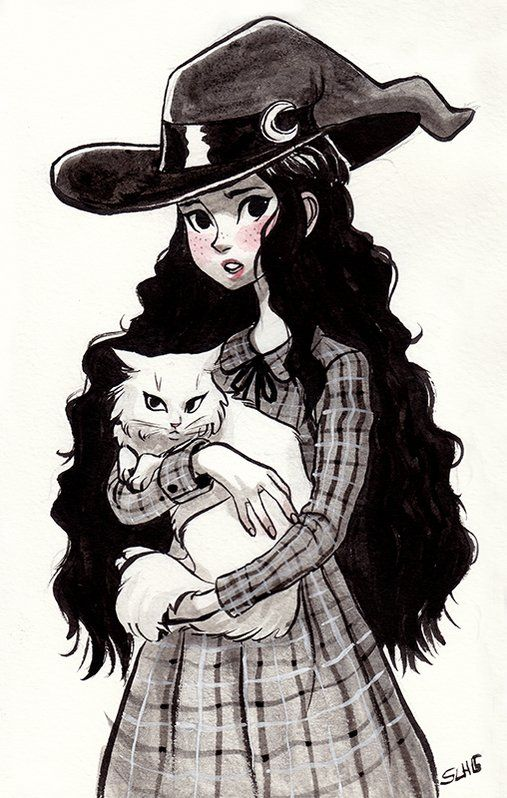 507x798 Sarah Lisa Hleb On Happy Halloween, Witches And Sketches