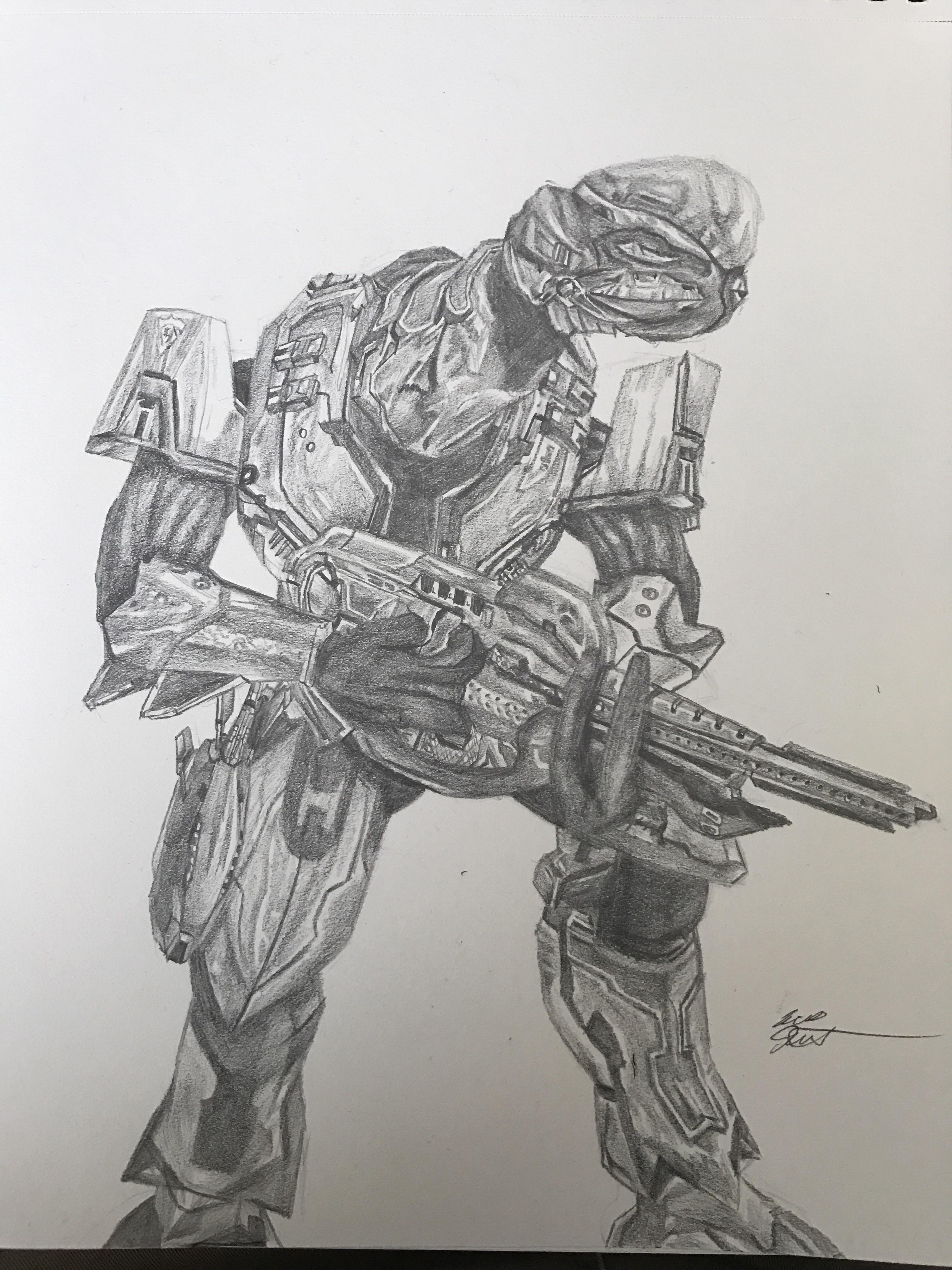 3024x4032 Halo 3 Elite Assault Armor. Apparently This Is The Community'S