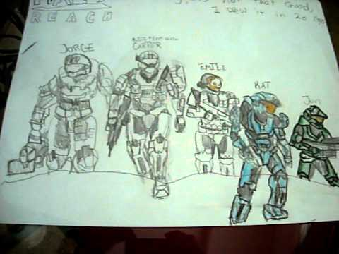 480x360 Halo Reach Drawing 2