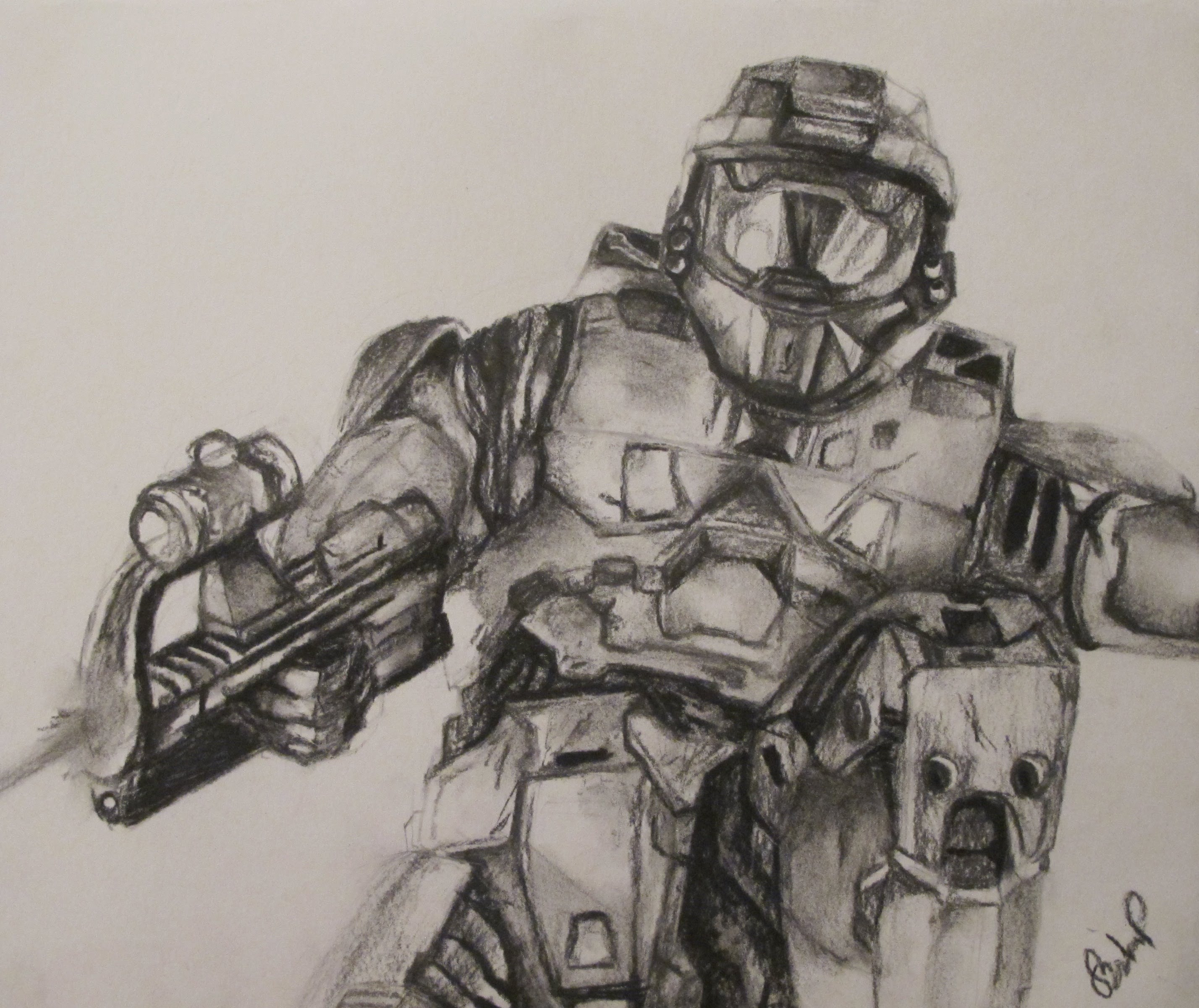 2856x2400 Speed Art (Halo 4