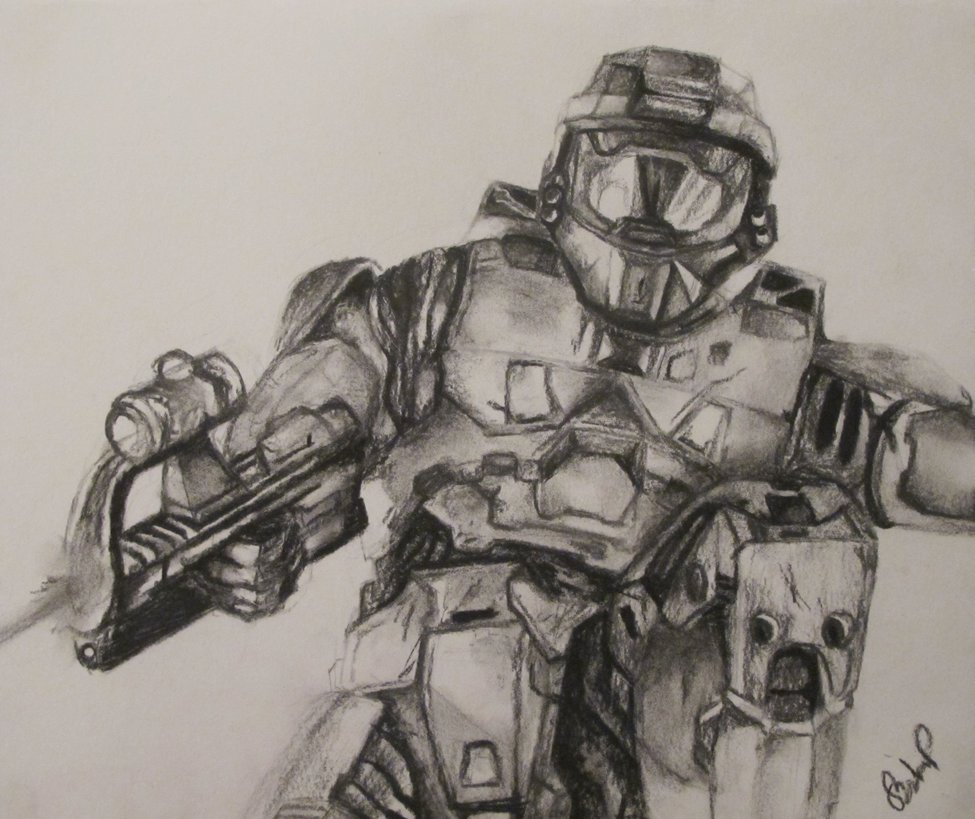 975x819 Halo 4 (Master Chief) By Officialcjbgames