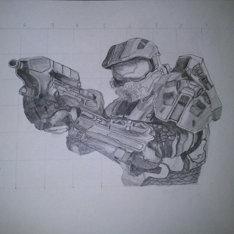 776x776 Halo 4 Master Chief By Skychow