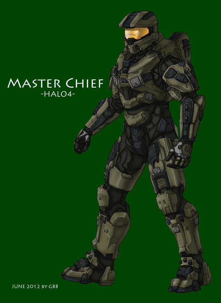731x1003 Halo 4 Master Chief By Grandbigbird