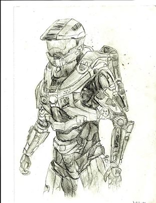 311x403 Halo 4 Master Chief By Hquatrell