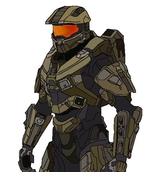 499x595 Halo 4 Master Chief By Neburgett