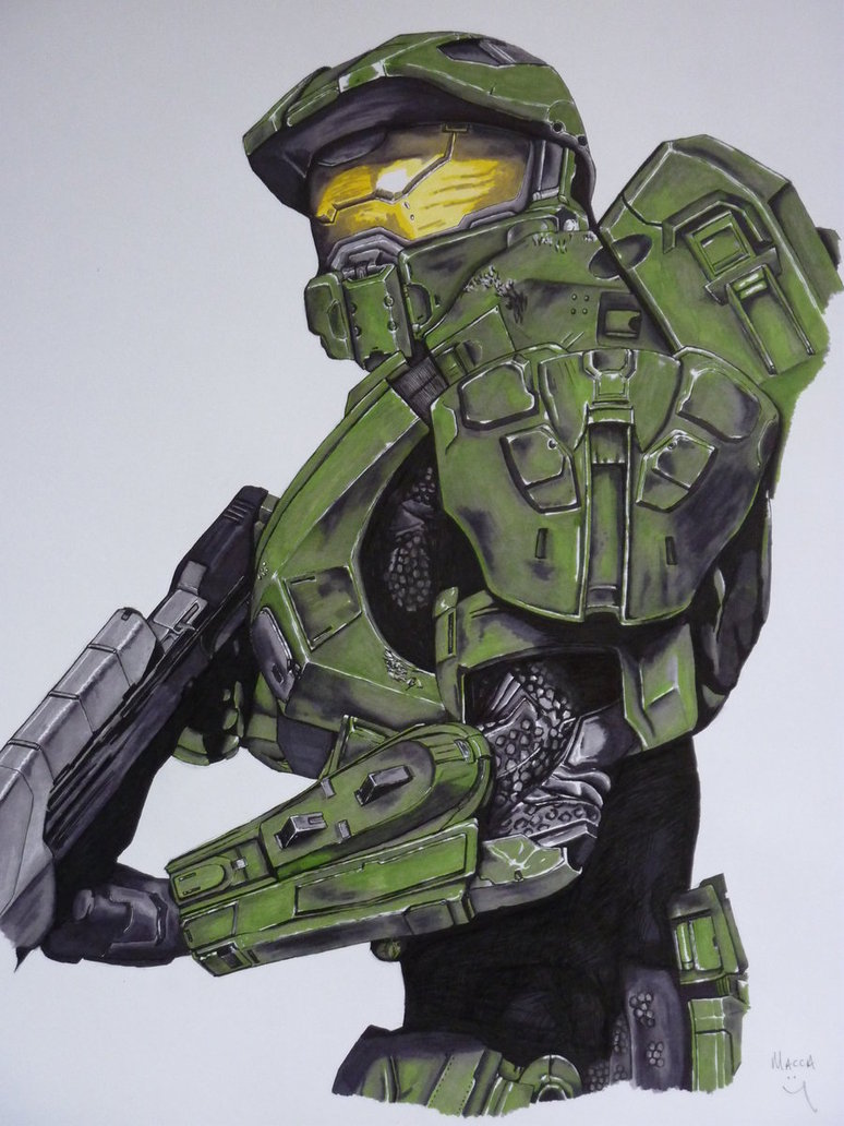 774x1032 Master Chief (Halo 4 Armour) By Macca Chief