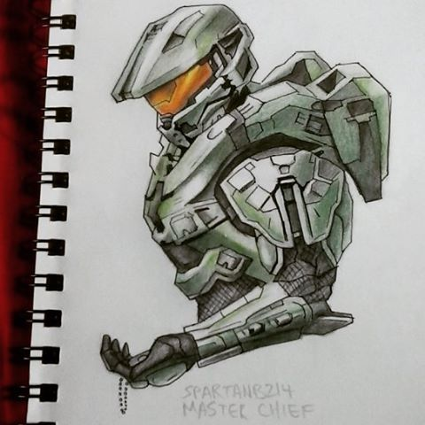 480x480 Master Chief 117 By Spartanb214