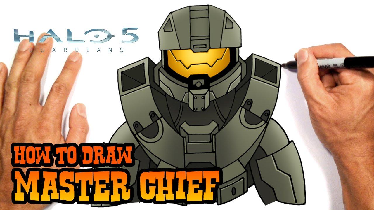 Halo 5 Drawing At Getdrawings