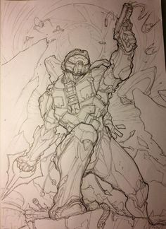 236x324 How To Draw Master Chief Halo Halo Master Chief