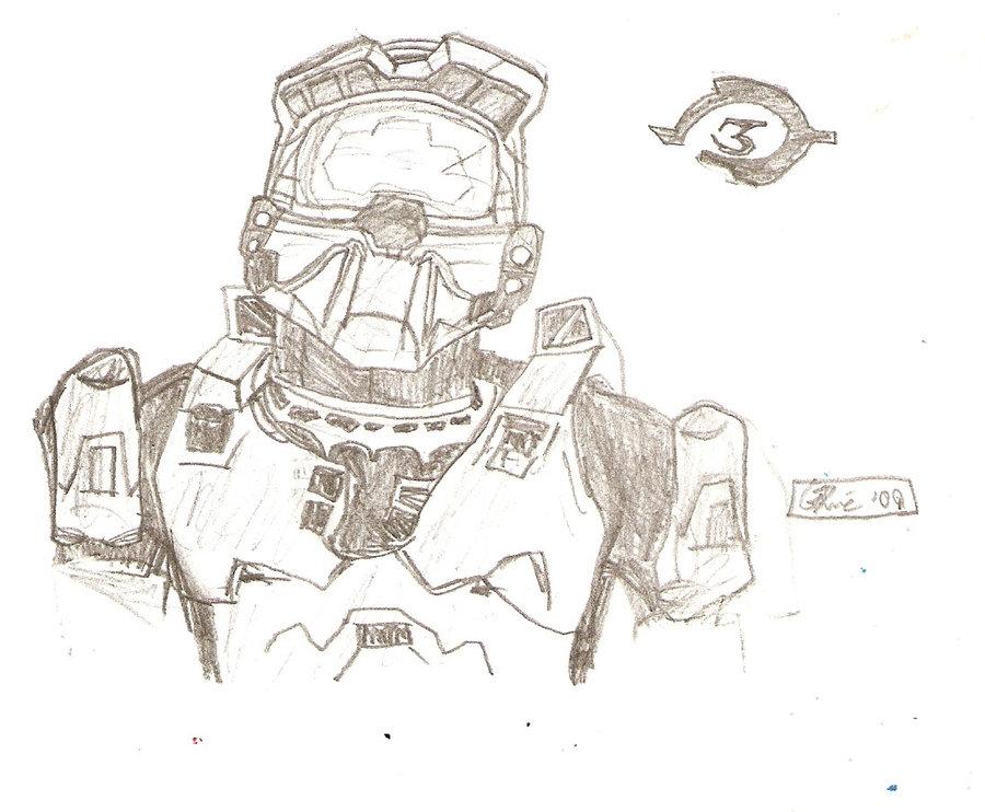 Halo Drawing At Getdrawings