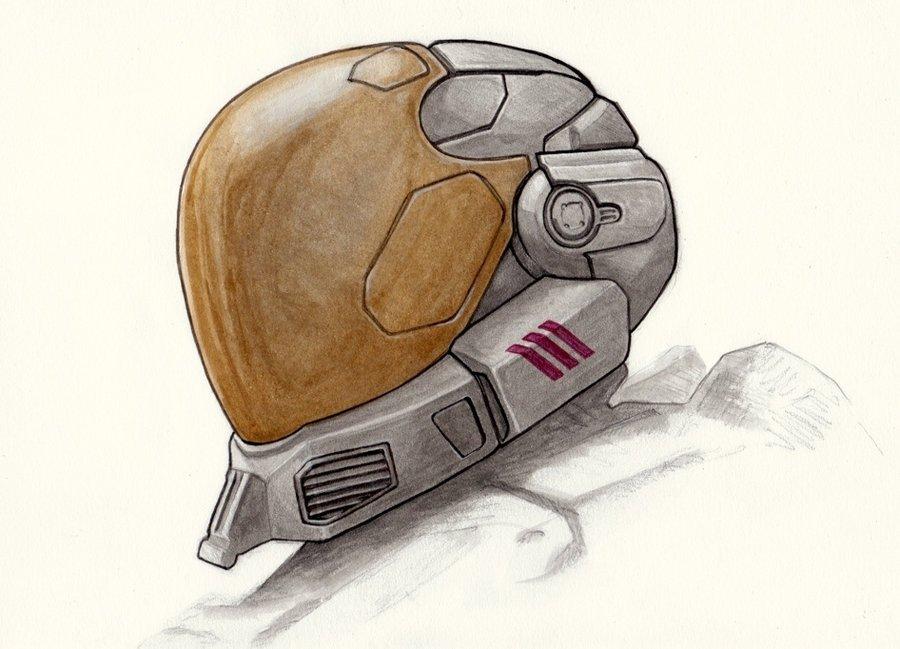 900x649 Halo Reach Eva Helmet By Pennnorris
