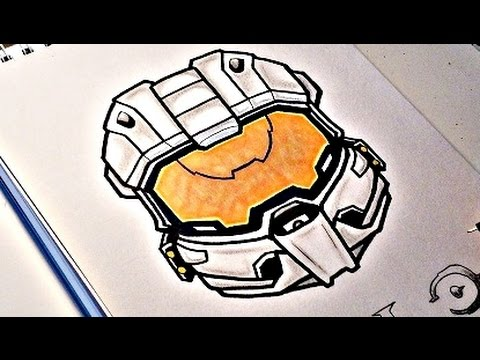 480x360 How To Draw Halo Master Chief
