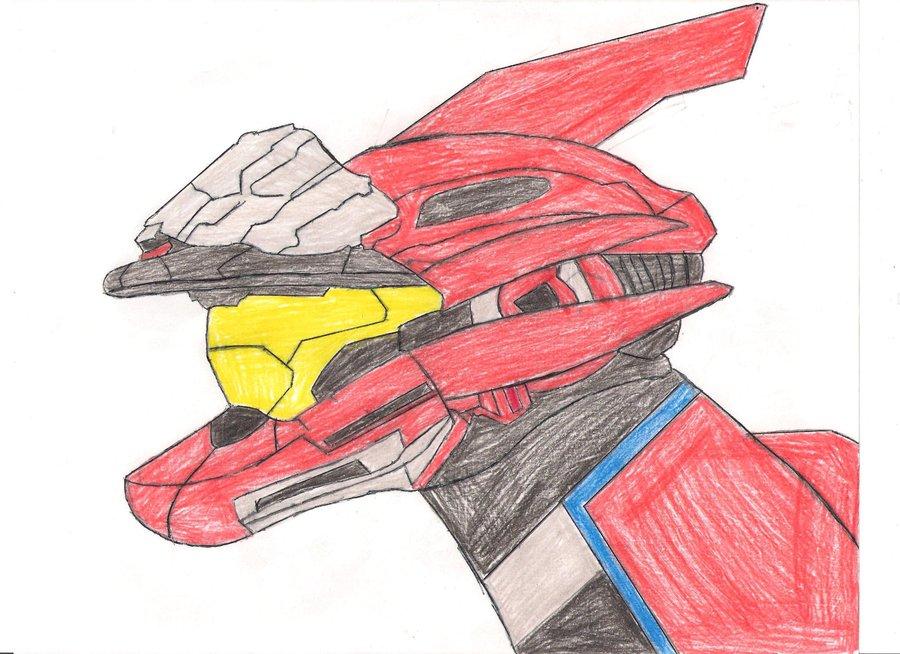 900x654 My Halo Spartan Helmet By Dragonwar23