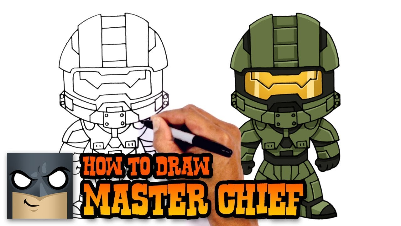1280x720 How To Draw Master Chief Halo