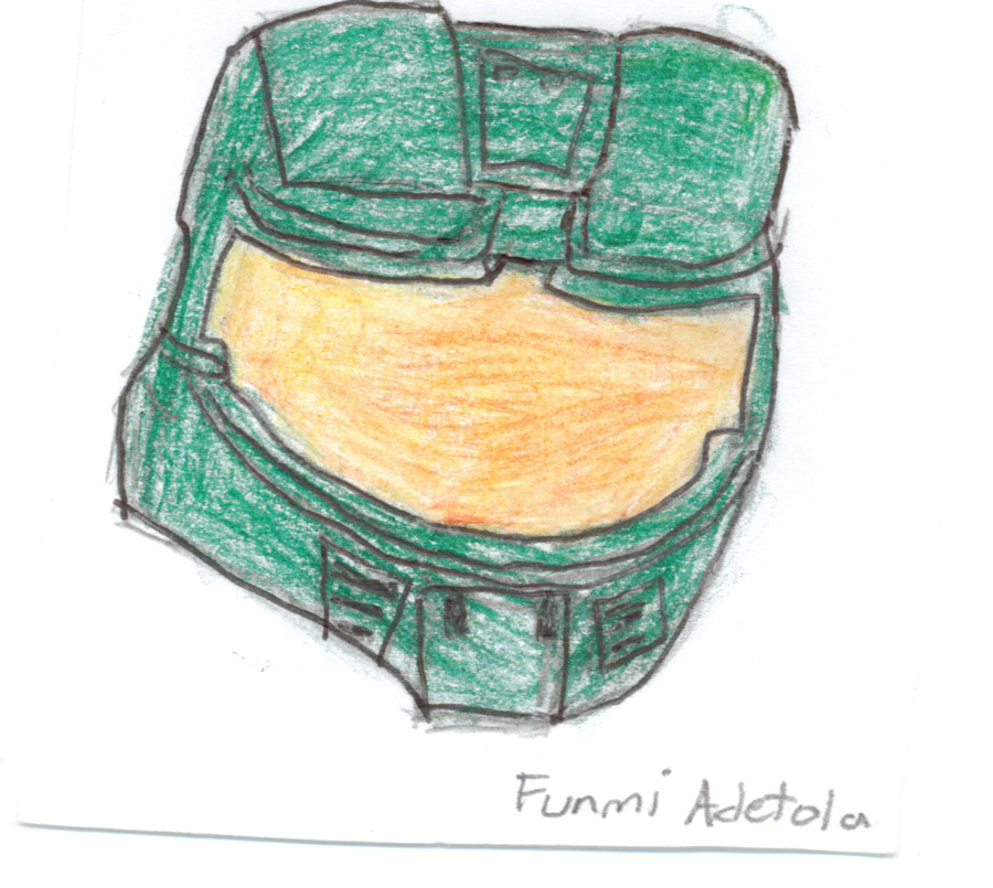 900x805 Master Chief's Helmet! By Funmiproductions
