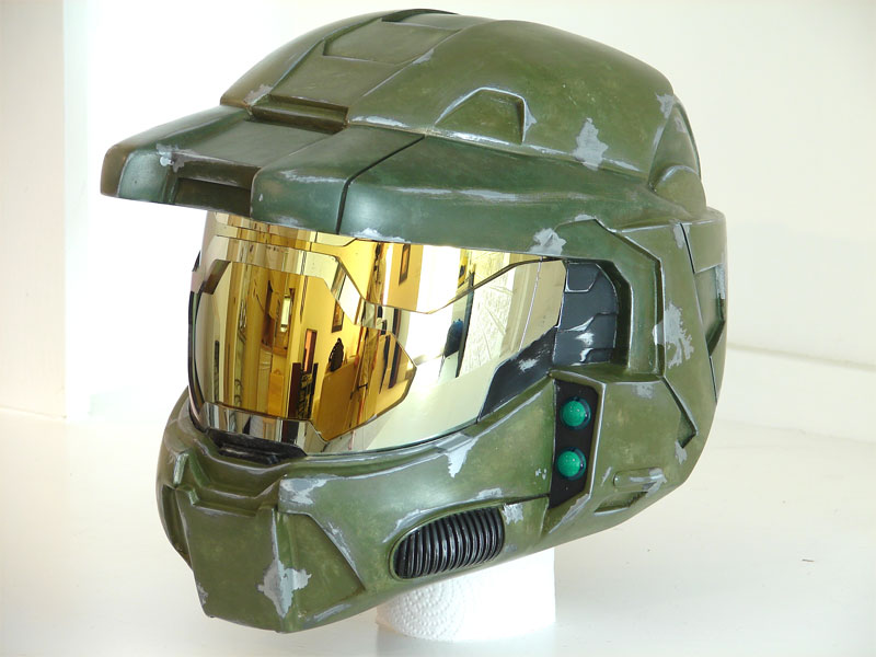 800x600 Master Chief Helmet Replica! Give Me One! Geek Stuff