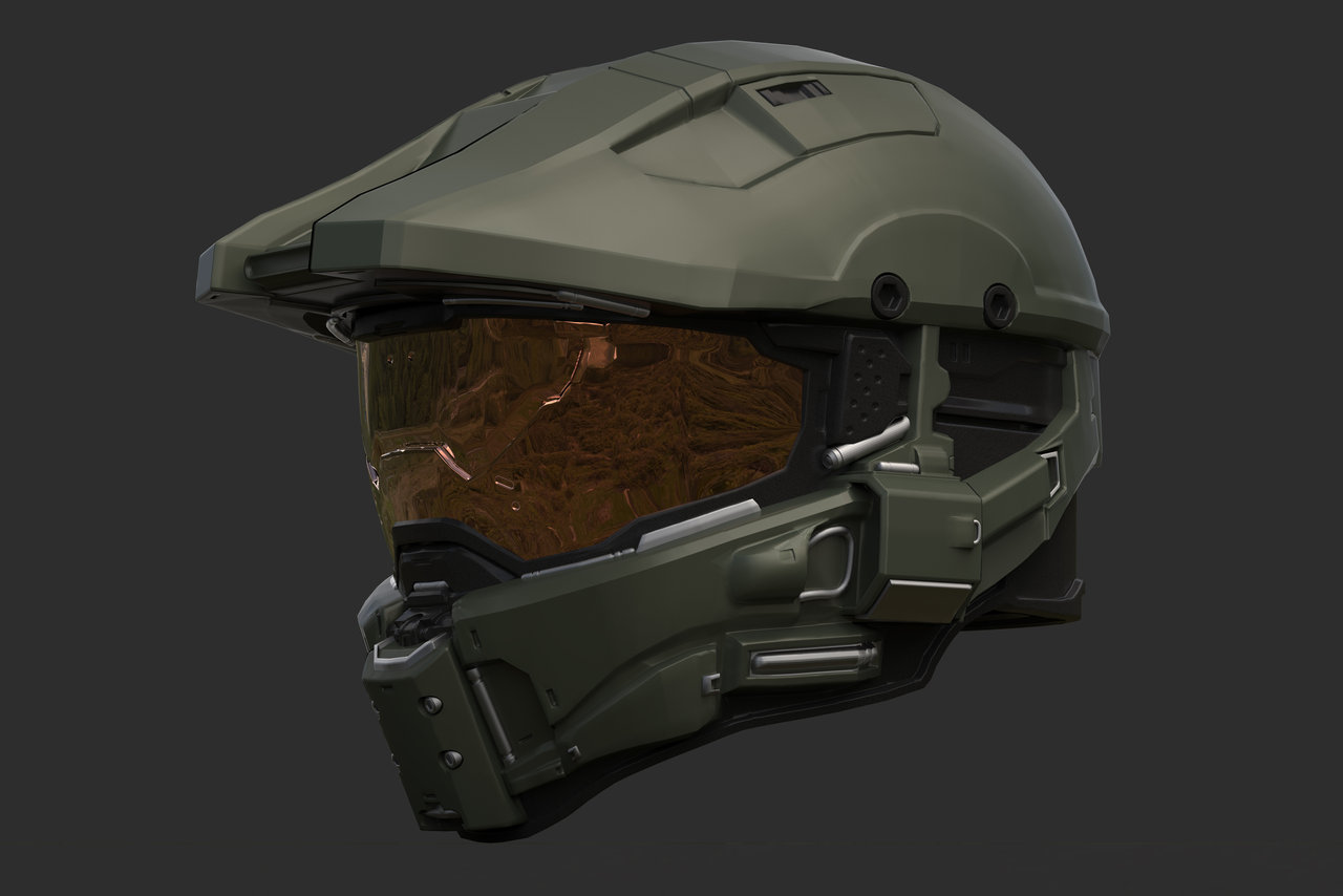 1280x854 Themes Master Chief Helmet Drawing Also How To Draw Halo