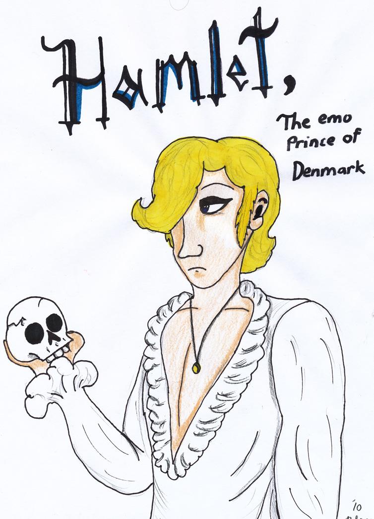 754x1046 Hamlet, Emo Prince Of Denmark By Rivka Nikola