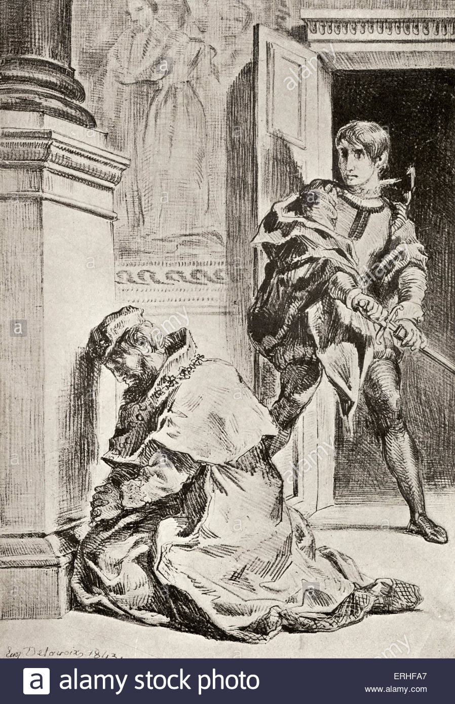 898x1390 Hamlet. Act Iii Scene 3