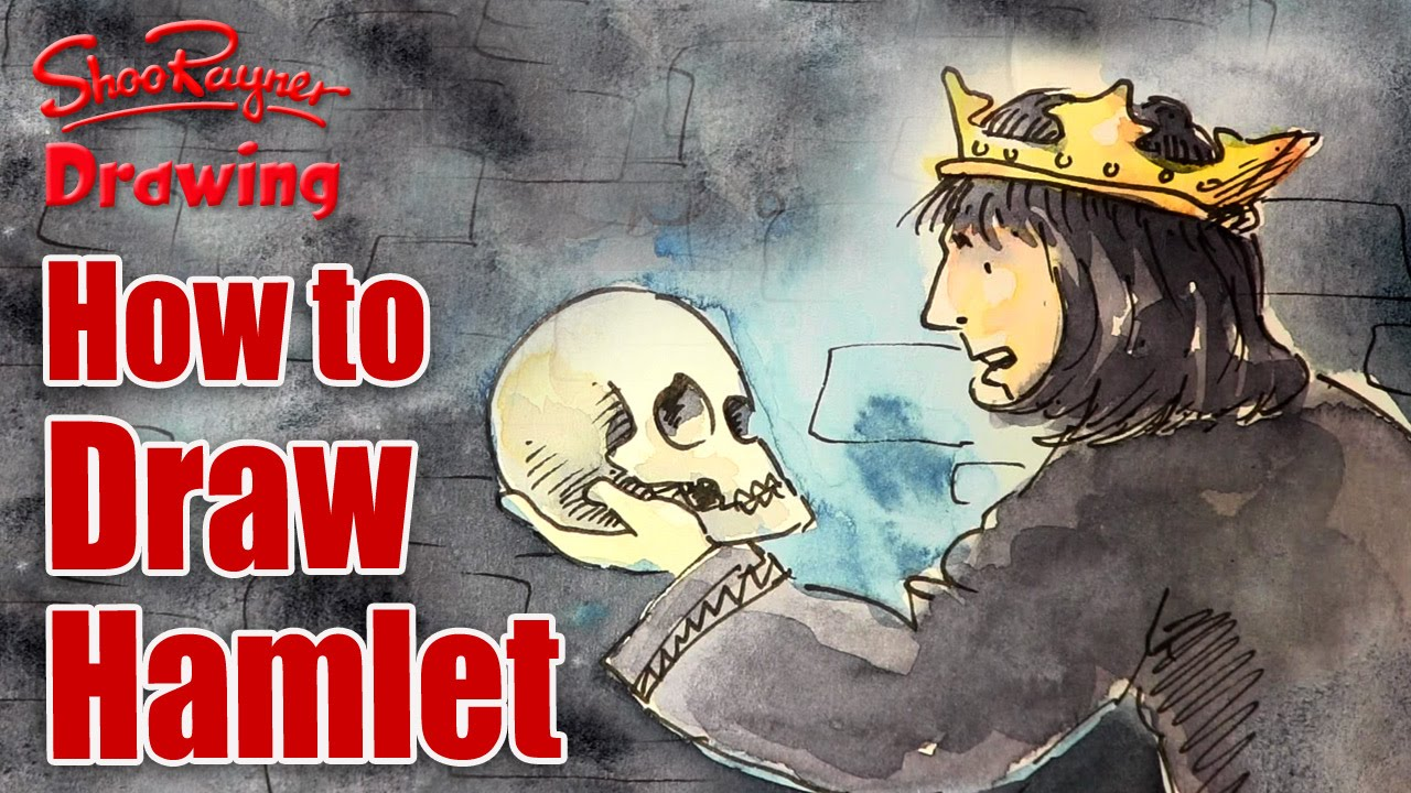 1280x720 How To Draw Shakespeare's Hamlet
