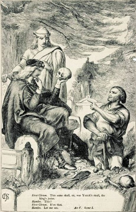 460x717 Visual Representations Of Hamlet, 1709 1900