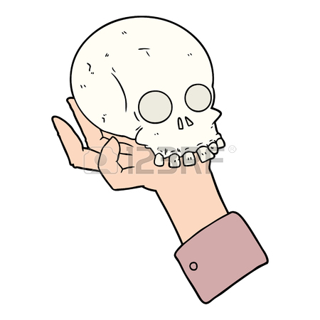 450x450 105 Hamlet Skull Stock Illustrations, Cliparts And Royalty Free