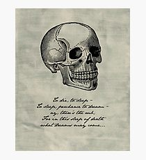 210x230 Hamlet Skull Drawing Photographic Prints Redbubble