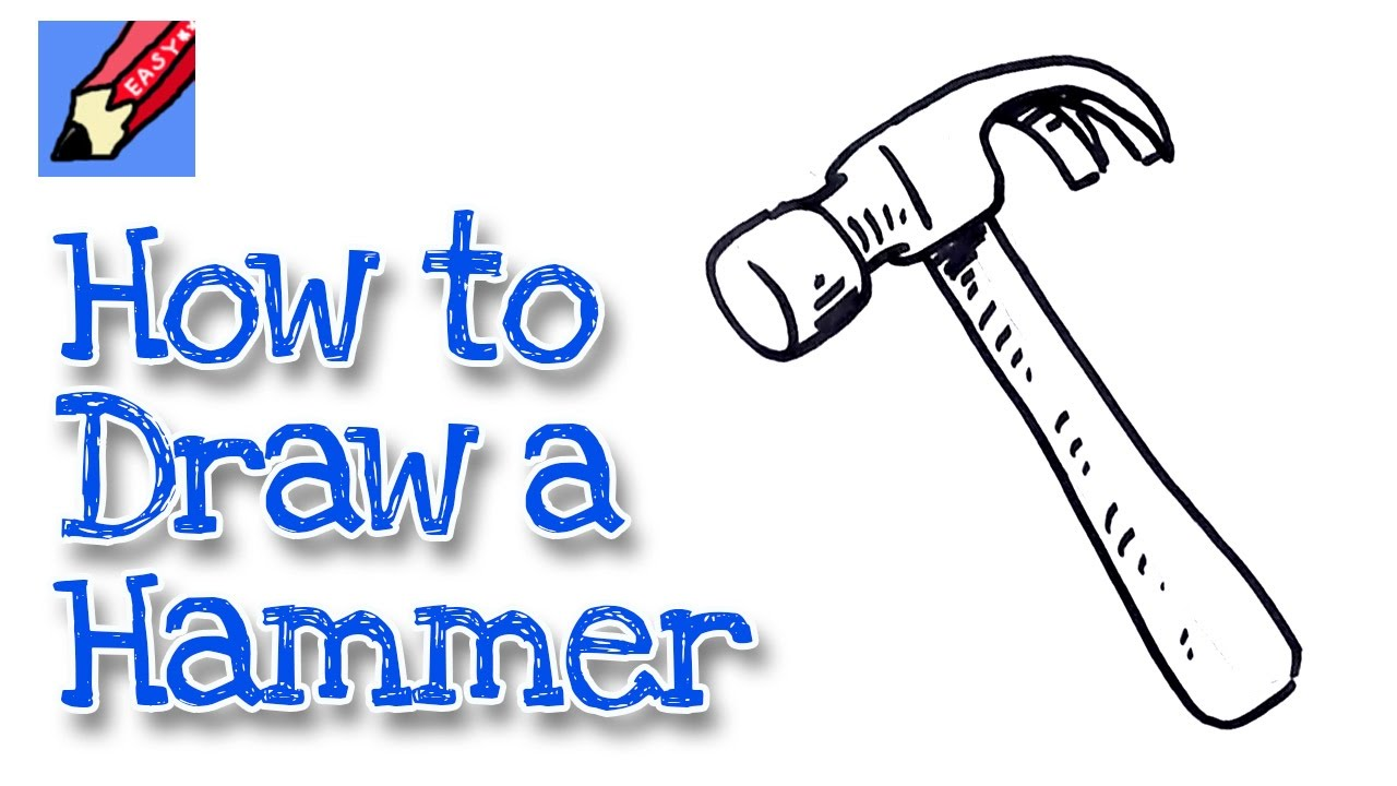 1280x720 How To Draw A Claw Hammer Real Easy