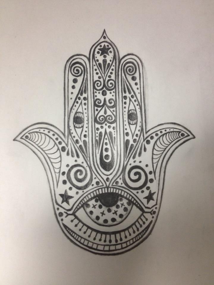 720x960 Hamsa Tatttoo Tattoos Hamsa Drawing, Tattoo