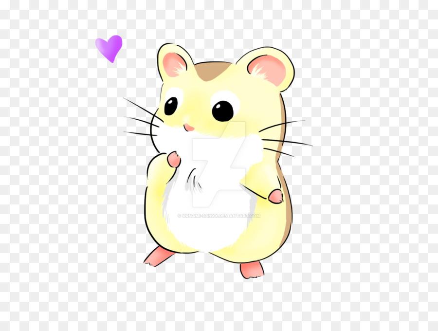 900x680 Campbell's Dwarf Hamster Roborovski Hamster Drawing Kavaii