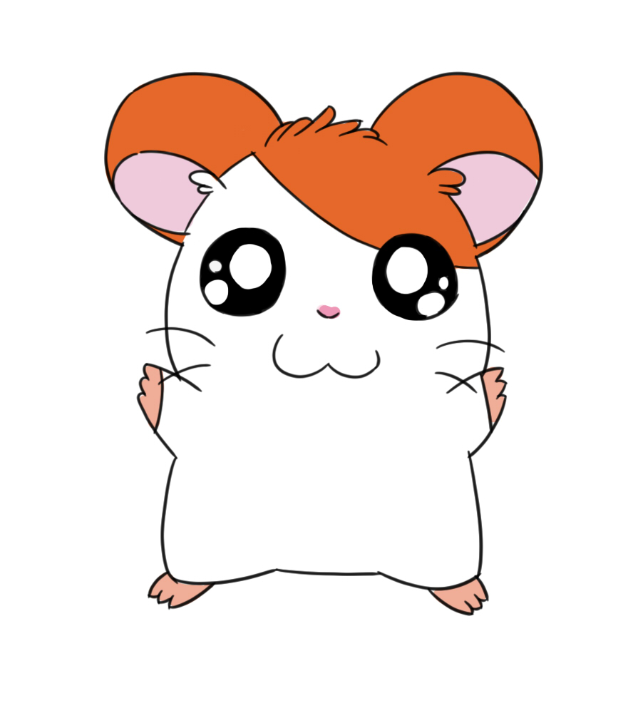 902x1000 How To Draw Hamtaro 10 Steps (With Pictures)