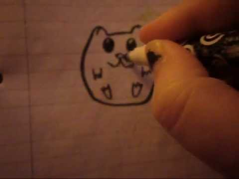 480x360 How To Draw A Cartoon Hamster