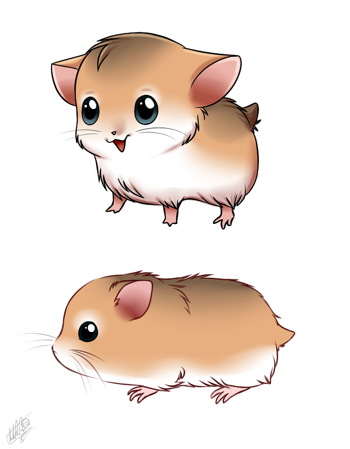 692x886 Hamster By Sweetochii