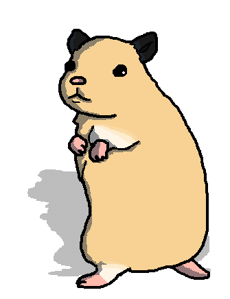 335x436 Hamster Drawing By Artist Who Draws