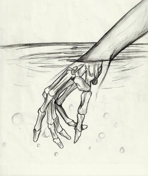 500x596 Art, Bones, Doodle, Doodles, Draw, Drawing, Draws, Fingers, Hand