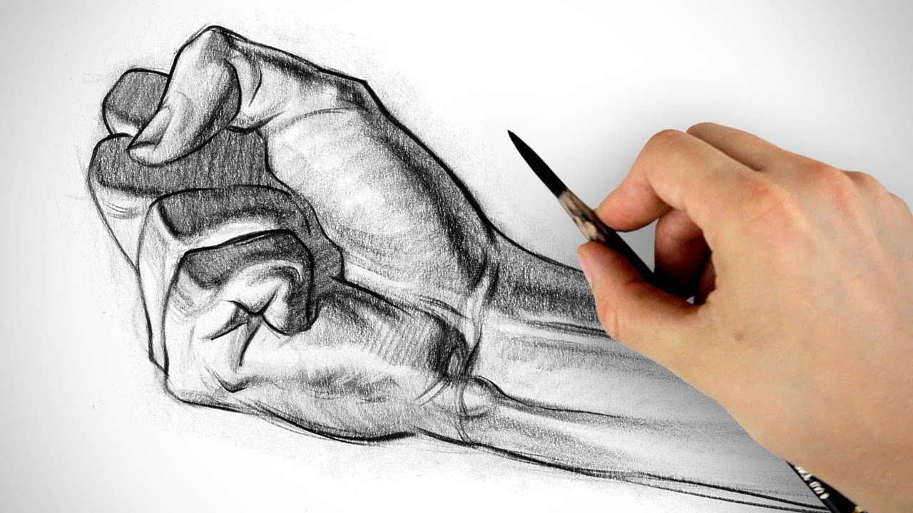 1280x720 How To Draw A Fist