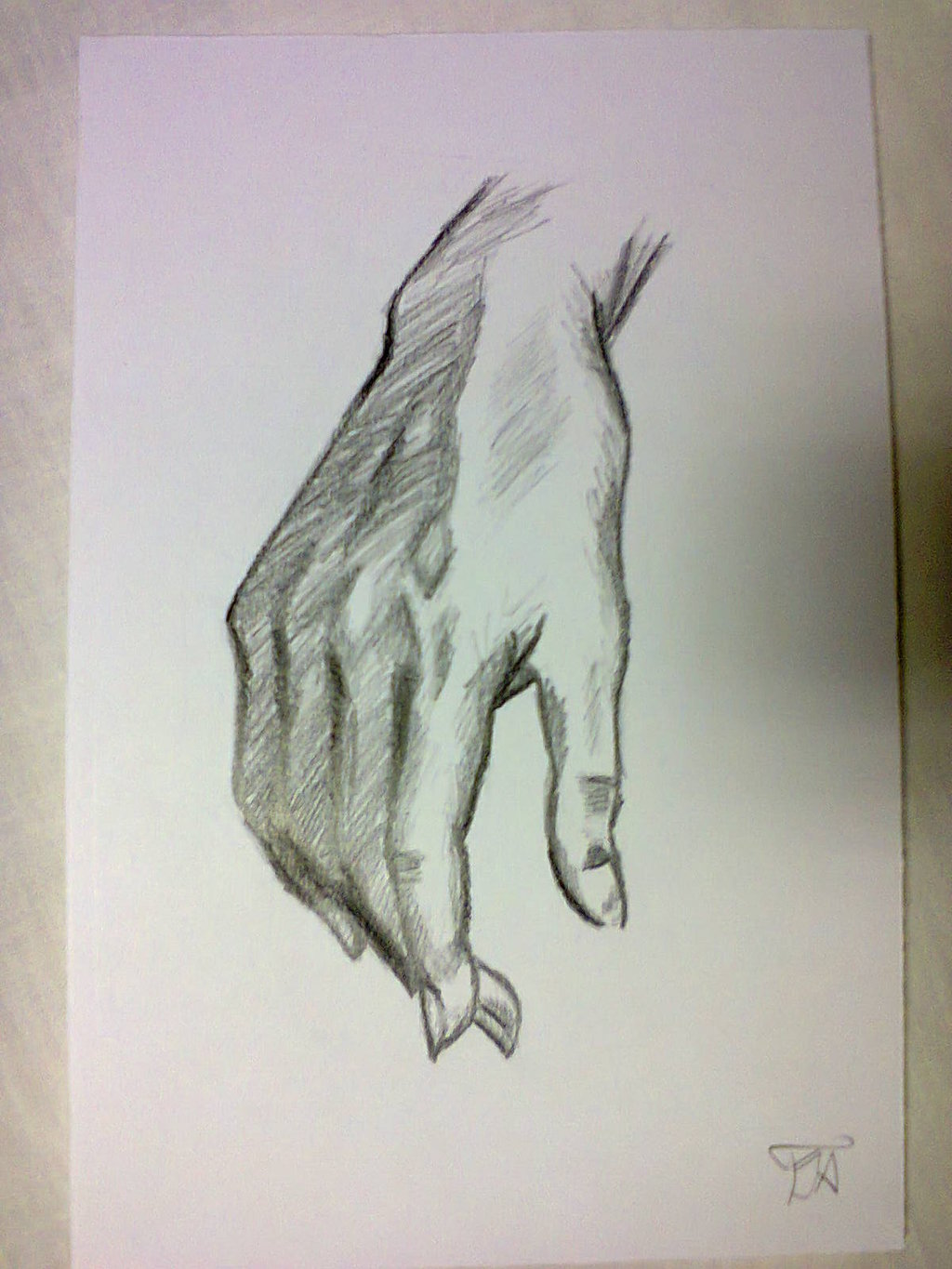 1024x1365 Hand Drawing 2 By Sajatheboss