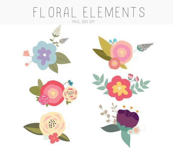 570x489 Photos Hand Drawn Flower Clip Art,