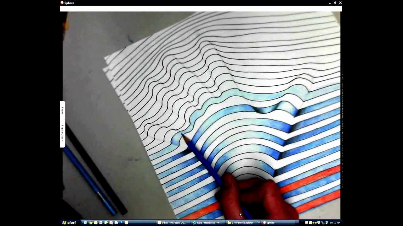 1280x720 Easy Optical Illusions To Draw Awesome How To Draw Cool Optical