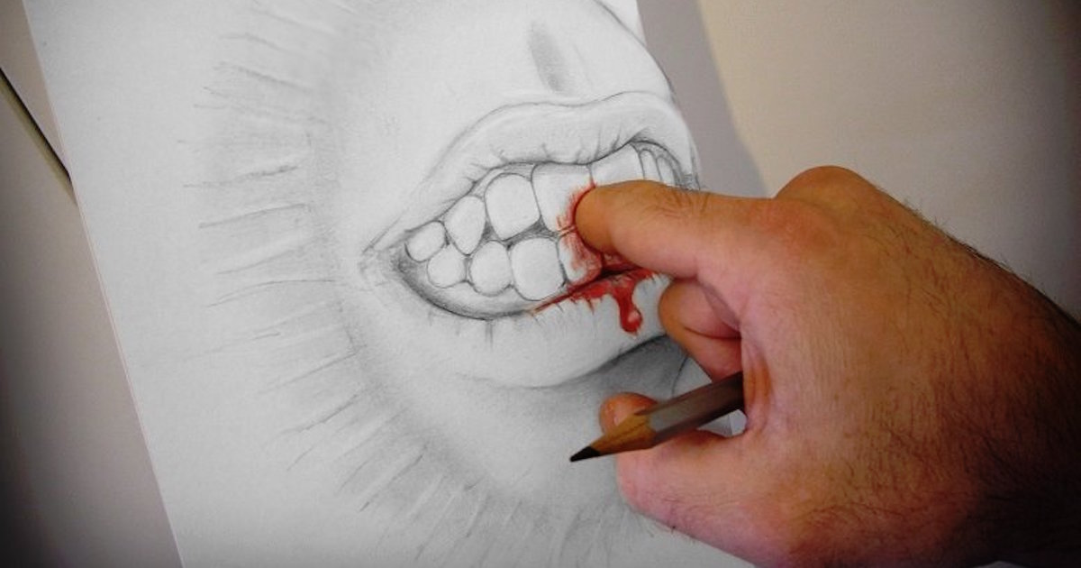 1200x630 Good Luck Figuring Out How This Guy's Hand Drawn Illusions Work