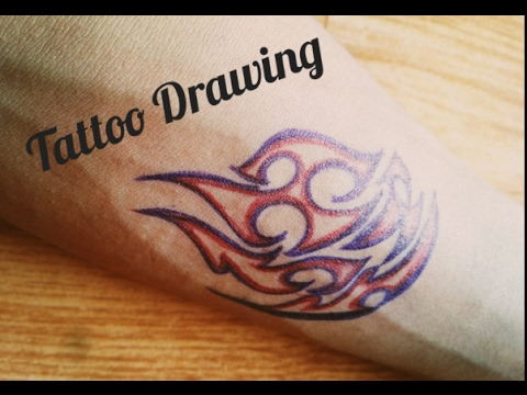 480x360 How To Draw Tattoo On Your Hand With Pens