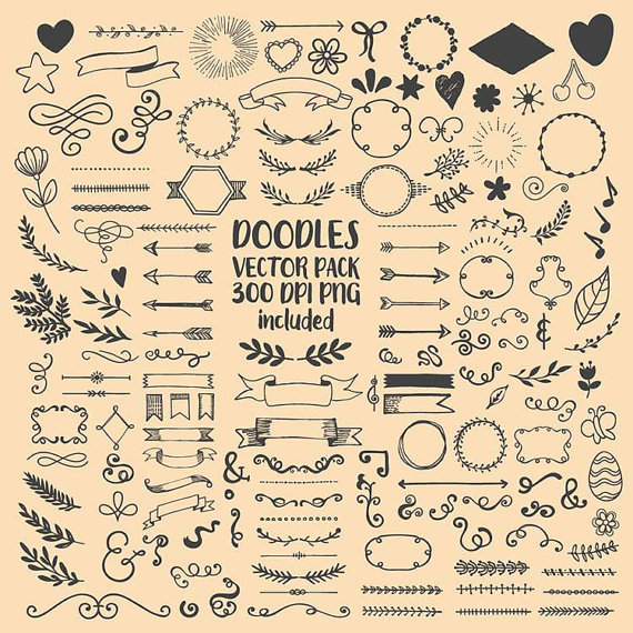 570x570 Hand Drawn Scribble Sketch Drawing Doodle Clipart Clip Art