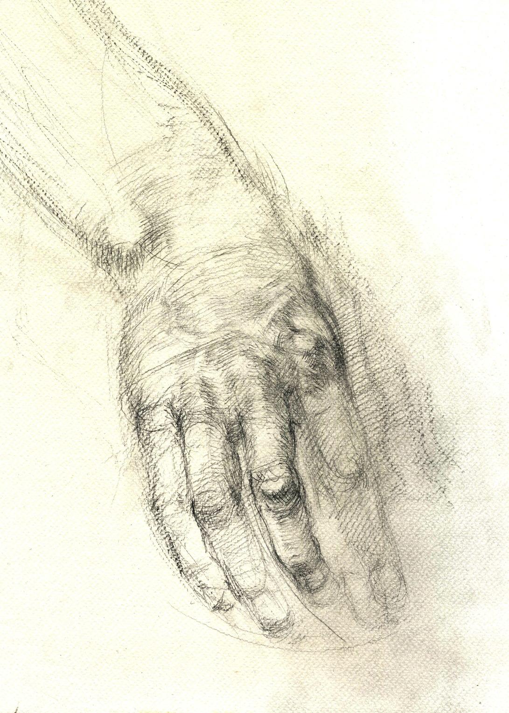 1091x1530 Benjamin Bach Cga August , Hand Study And More Fluid G. Vilppu