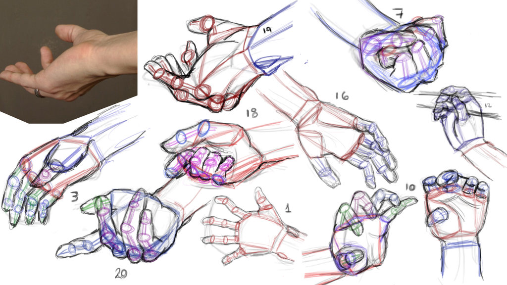1024x576 Gesture Drawing And Construction Lines By Anaisgomez