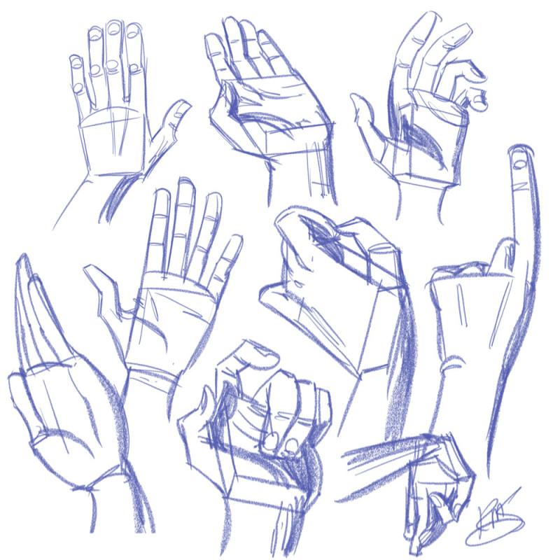 800x800 Drawing Hands Krishna Draws Custom Illustrations And Comics