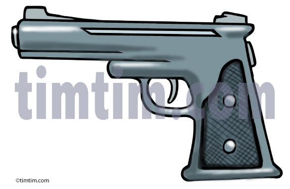 573x373 Free Drawing Of A Handgun From The Category Crime Law Amp Terror