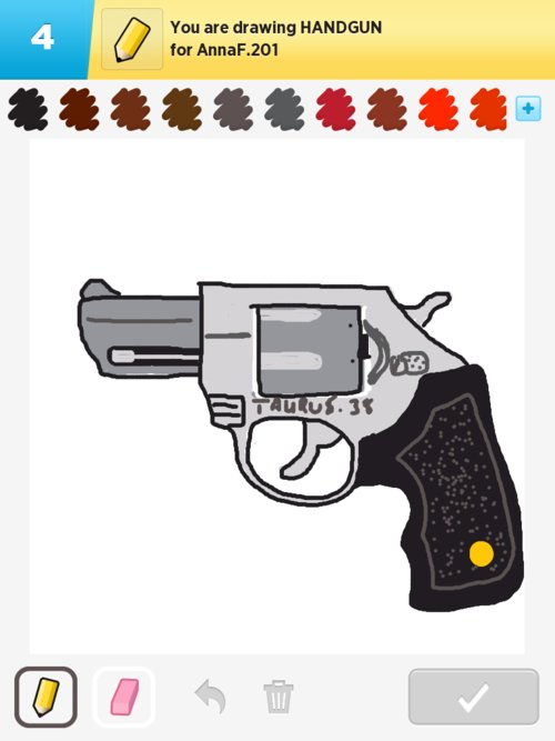 500x667 Handgun Drawings