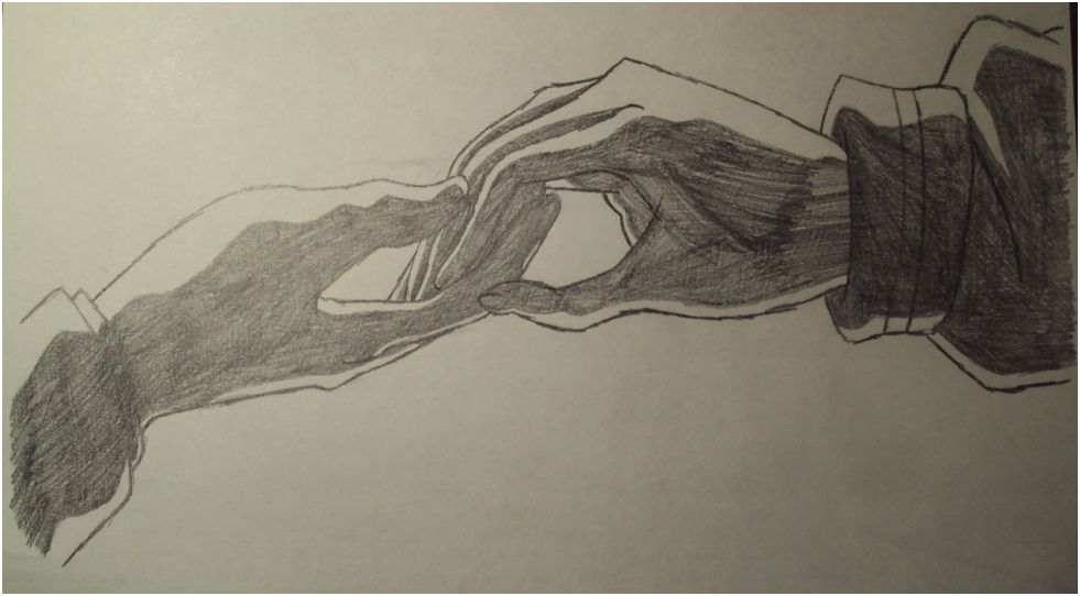 Pencil Sketches Hands