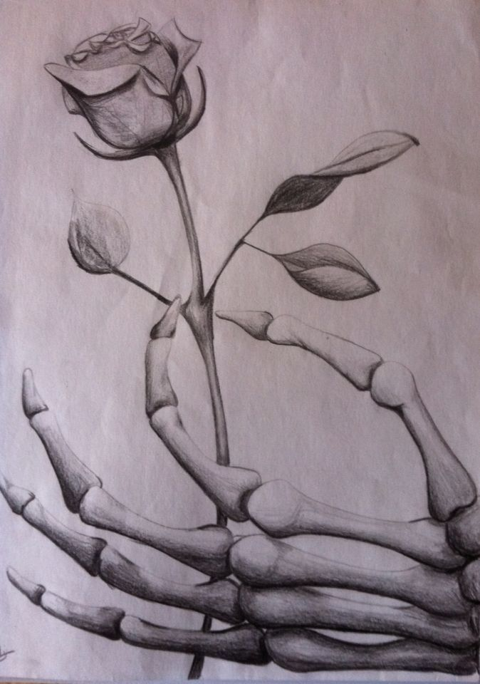 674x960 Image Result For Grim Reaper Hand Holding Rose Drawing